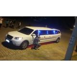 Limousine para aniversário infantil preço  na Vila Sol