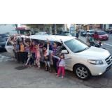 Limousine para aniversário infantil quanto custa na Vila Alba