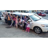 Limousine para aniversário infantil valor no Jardim Miriam