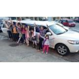 Limousine para aniversário infantil valor no Jardim Paulo VI