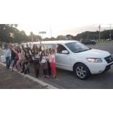 Limousine para aniversário preço na Vila Clotilde