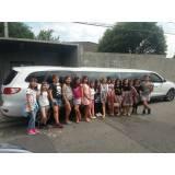 limousine para aniversário quanto custa na Vila Lucinda