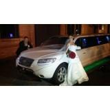 Limousine para casamento na Chácara Santana