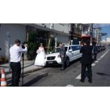 Limousine para casamento na Vila Guilhermina