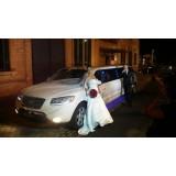 Limousine para casamento preço acessível na Vila Roschel