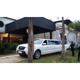 Limousine para casamento preço em Restinga