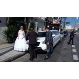 Limousine para casamento preço na Chácara Cachoeirinha