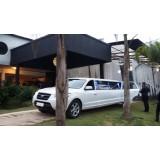 Limousine para casamento preço no Jardim Tropical