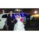 Limousine para casamento quanto custa na Chácara Santo Antônio