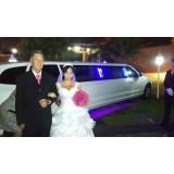 Limousine para casamento valor no Paraíso