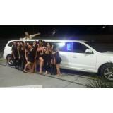 Limousine para eventos preço na Vila Baruel