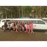 limousine para festa de aluguel quanto custa na Vila Iório