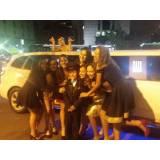 limousine para festa de aniversário preço no Jardim Rutinha