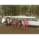 limousine para festa de aniversário quanto custa na Vila Henrique
