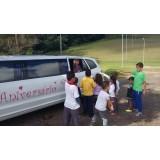 Limousine para festas de aniversário melhor preço na Vila Laís