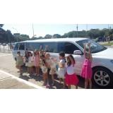 Limousine para festas de aniversário menor preço em Brasília