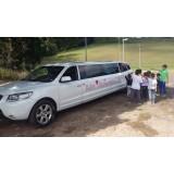 Limousine para festas de aniversário menor preço no Sítio Santa Cecília