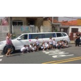 Limousine para festas de aniversário no Jaguara