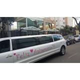 Limousine para festas de aniversário valor acessível  em Piquerobi