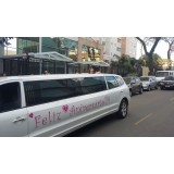 Limousine para festas de aniversário valor acessível  na Santa Cruz