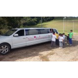 Limousine para festas de aniversário valor acessível  na Vila Monte Santo
