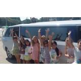 Limousine para festas de aniversário valor na Vila Mangalot
