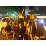 limousine para festas e eventos preço na Vila Clarice