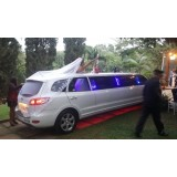 Limousine para noiva em Adolfo