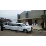 Limousine para noiva menor preço na Vila Miranda