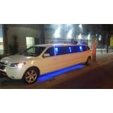 Limousine para noiva na Chácara Paineiras