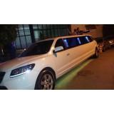 Limousine para noiva na Vila Susana