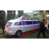 Limousine para noiva no Jardim Diomar