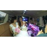 Limousine para noiva onde contratar em Evangelista de Sousa
