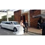Limousine para noiva onde encontrar na Vila Nova Parada