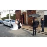 Limousine para noiva onde localizar na Vila Stela