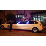 Limousine para noiva preço acessível na Chácara da Penha