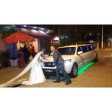 Limousine para noiva preço em São José do Barreiro