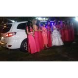 Limousine para noiva preço no Conjunto Residencial Novo Pacaembu