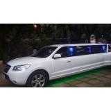 Limousine para noiva quanto custa na Vila Elisabete