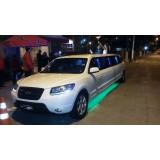 Limousine para noiva valor na Vila Vieira
