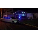 Limousine preço acessível em Cosmópolis