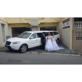 Limousine Preta para Casamento