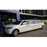 Limousines para alugar melhor preço na Fazenda Itaim