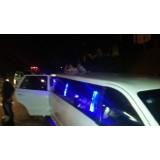 Limousines para alugar preço na Vila Henrique