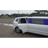 Limousines para alugar preço na Vila Monumento