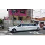 Limousines para alugar valor na Vila Galvão