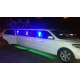 Limousines para alugar valor na Vila Mineira