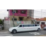 Limousines para alugar valor na Vila Santana
