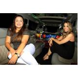 locação de limousine aniversario preço Vila Azevedo