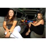 locação de limousine aniversario preço Vila Cleonice